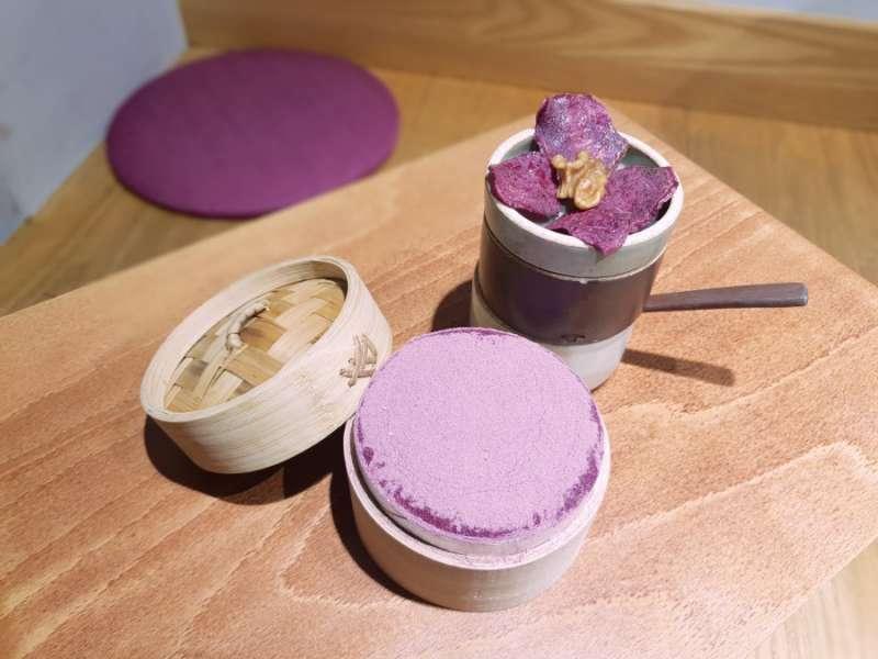 充滿紫色的夢幻甜點店,Cafe Bora。(圖/kkday)