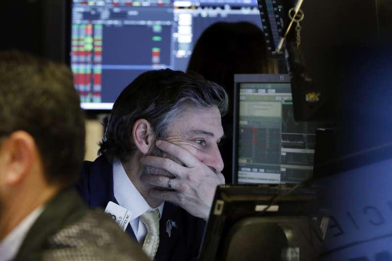 2019年1月3日,美國股市大跌(AP)