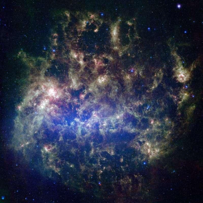 大麥哲倫星系。(翻攝自NASA官網)