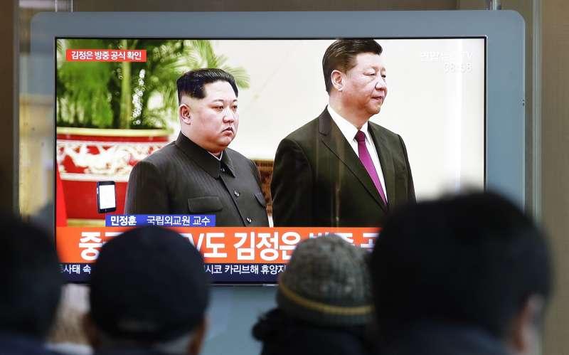 中國國家主席習近平邀請北韓領導人金正恩訪問中國(AP)