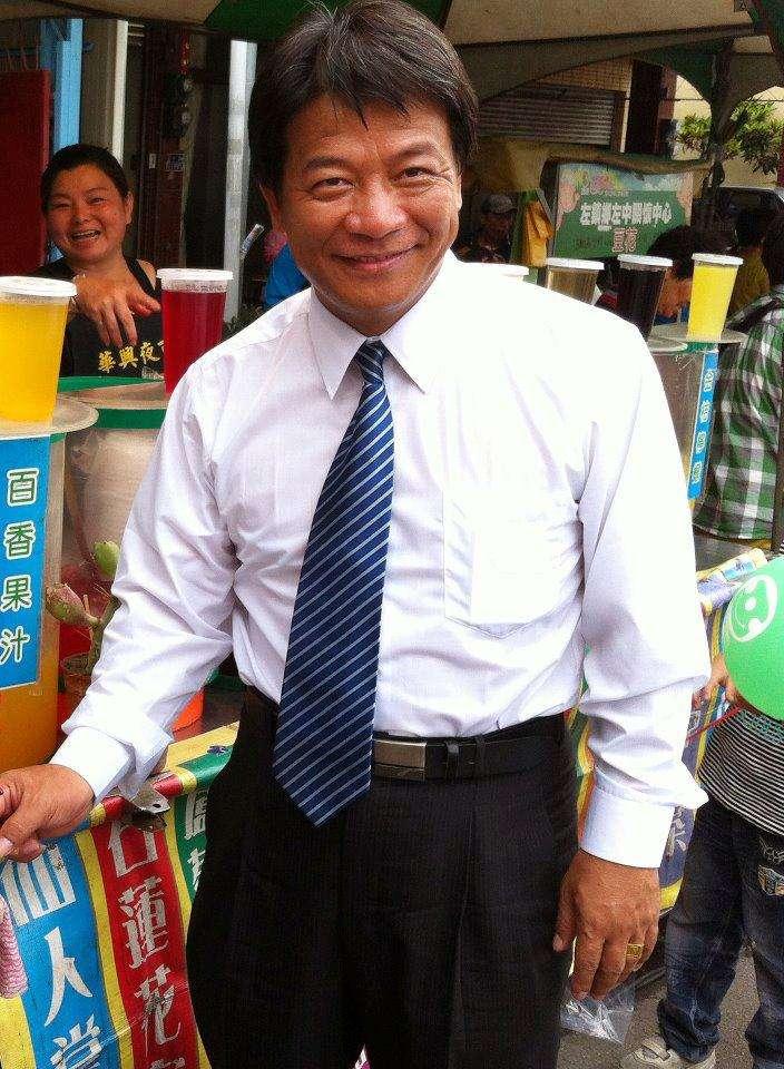 2012年5月1日_台南市議會議長郭信良。(資料照,取自郭信良臉書)