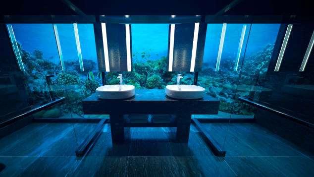 蔚藍的海底世界,就呈現在你眼前。(圖/瘋設計)