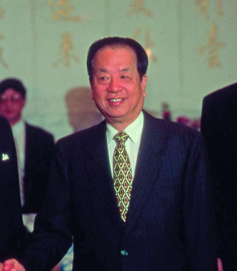 錢其琛曾喊話,要求兩岸在一個中國原則下進行政治談判。(林瑞慶攝)