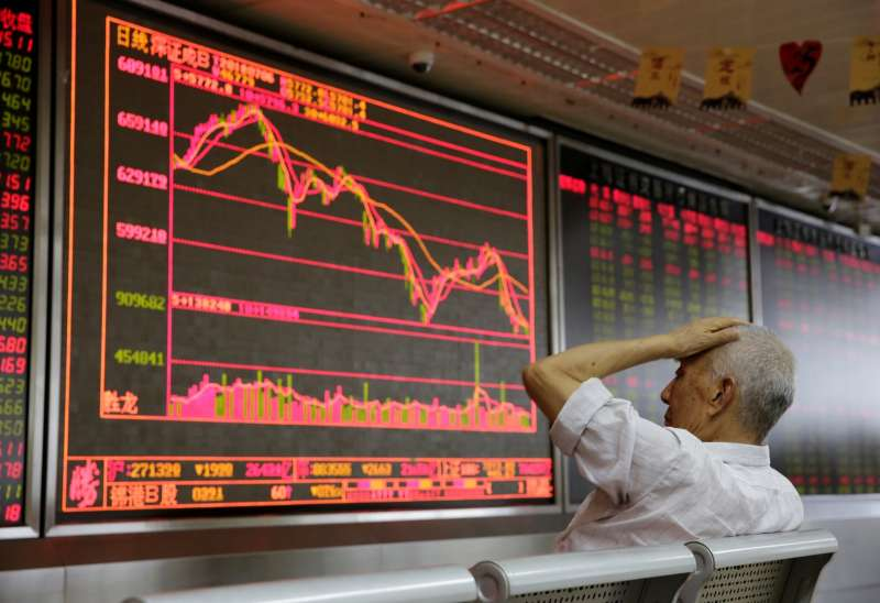 中國股市自去年 6 月進入熊市。(圖片由*CUP提供)