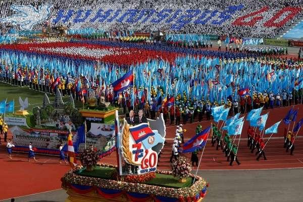 今年「勝利日」,金邊亦有慶祝活動。(圖/*CUP提供)