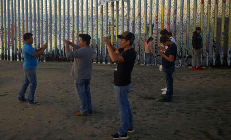 美國與墨西哥邊界。(AP)