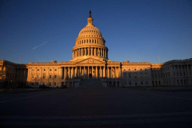 美國國會大廈。(AP)