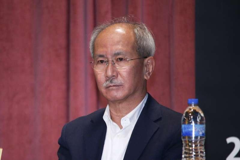 20190112-時代力量黨員大會,圖為時代力量決策委員林世煜。(蔡親傑攝)
