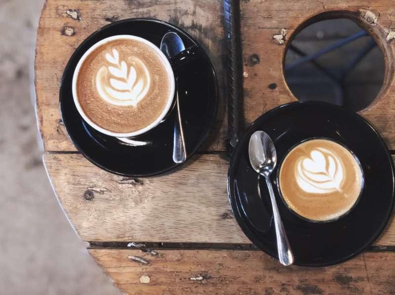 擁有「Best Coffee in Town」之美譽的Degraves Espresso Bar。(圖/kkday)