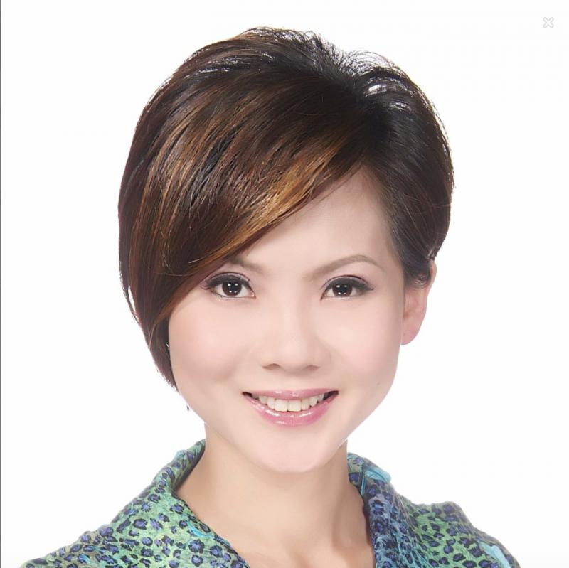20190115-林益世之妻彭愛佳。(取自彭愛佳臉書)