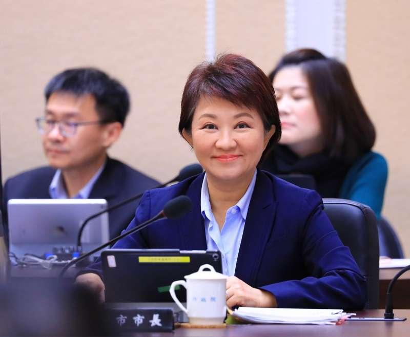 20190117-台中市長盧秀燕今(17)日出席行政院會。(台中市政府提供)