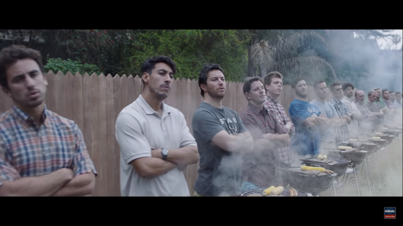 批評者大多認為,這支廣告將所有男性以偏概全,把男性妖魔化成性騷擾或性侵加害者。(Youtube截圖)