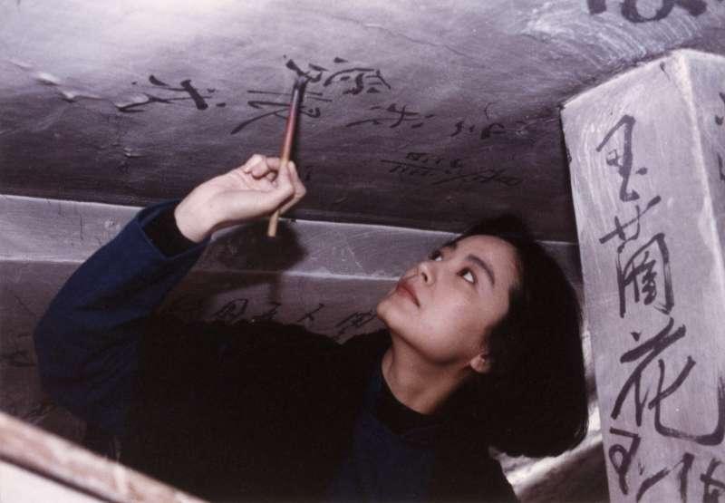 20190118-電影《滾滾紅塵》數位修復版將於3月8日上映。圖為飾演沈韶華的林青霞。(甲上娛樂提供)