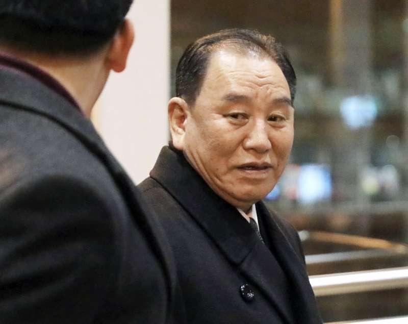 2019年1月,北韓(朝鮮)最高領導人金正恩特使、朝鮮勞動黨中央委員會副委員長金英哲訪問美國(AP)