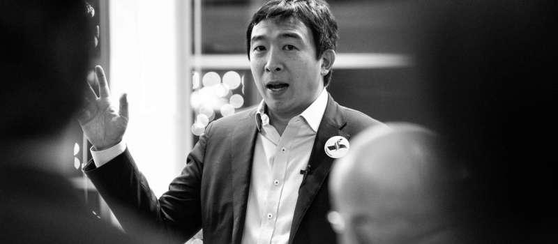 競選2020年美國總統的台裔青年創業家楊安澤(www.yang2020.com)