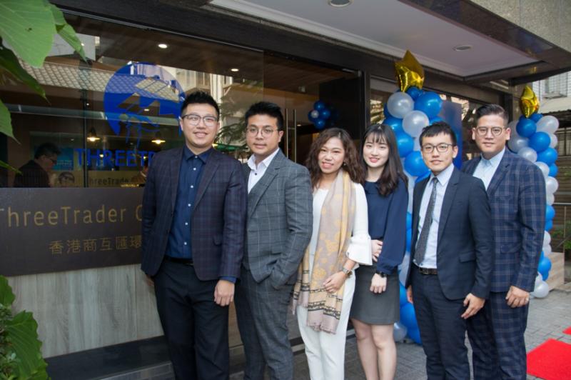 ThreeTrader的台灣分公司團隊成員普遍年輕。(圖/ThreeTrader提供)