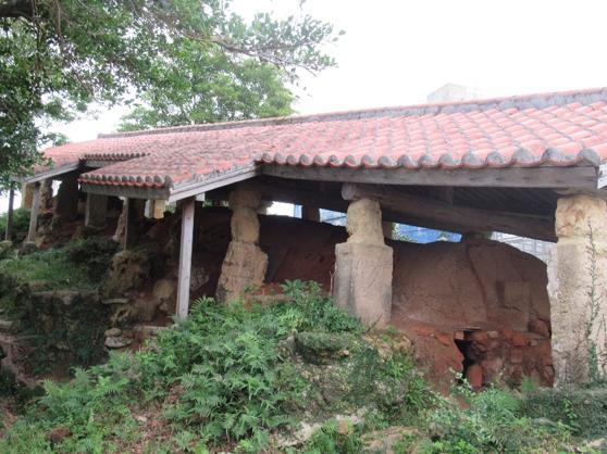 壺屋通登窯遺跡。(圖/秋禾攝影)