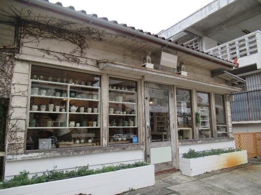 壺屋通陶器店。(圖/秋禾攝影)
