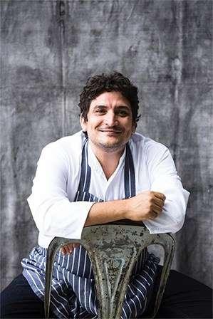 今年獲得米其林三星的 Mirazur 主廚 Mauro Colagreco(圖/作者提供)