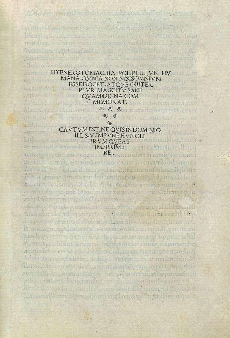 《尋愛綺夢》書名頁以前兩個字構成後世通用的書名。(作者提供)