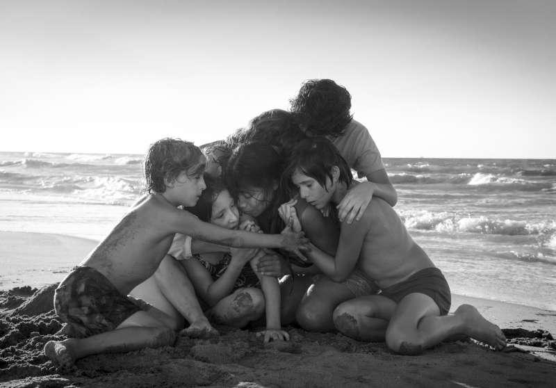 墨西哥名導艾方索柯朗的作品《羅馬》入圍十項奧斯卡獎項。(AP)