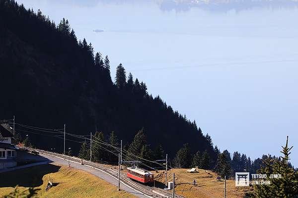 瑞吉登山鐵道景色秀麗,一直是歐洲相當具有人氣的登山鐵道。(圖/想想論壇)