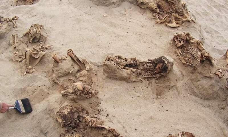 被犧牲的孩童年齡大多介於五到十四歲,心臟都被挖出。(圖片截至Youtube)