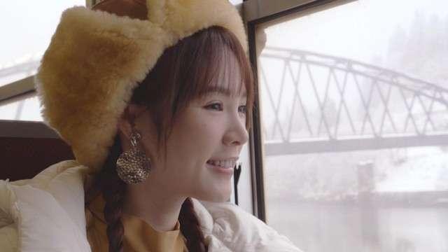 20190124-福島縣政府為了宣傳JR只見線,已委託現年26歲的台灣人氣藝人‧吳心緹擔任「只見線應援大使」。(圖/潮日本提供)