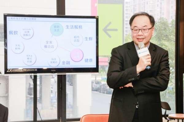 全家執行副總經理吳勝福認為,全家的賣點在於「智慧化」以及所產生的附加價值。(圖/ 賀大新,數位時代)