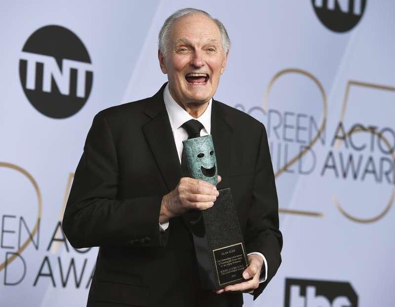 2019年第25屆美國演員工會獎,終身成就獎:亞倫艾達(Alan Alda)(AP)