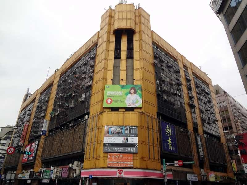 20190129-孟穎專題配圖-位於西門町的獅子林商業大樓,在1950年代卻是白色恐怖政治犯的惡夢之地。(取自Solomon203@wikipedia/CC BY-SA 4.0)