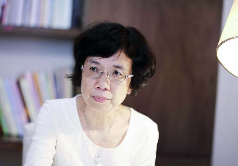 張晉芬強調:「減少性騷擾,有賴順暢的申訴管道、性別友善的工作氛圍」。(圖/張語辰攝)