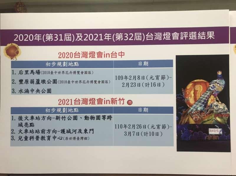 2020及2021燈會,確定在台中市、新竹市舉辦。(廖羿雯攝).JPG