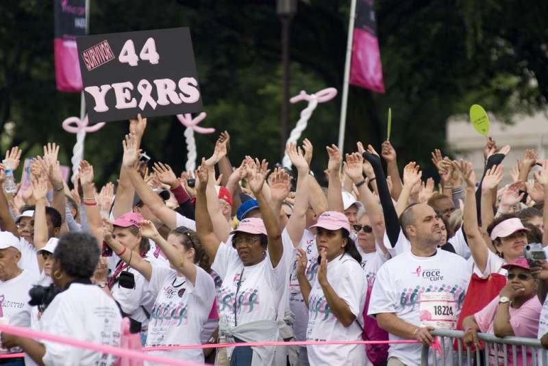 美國蘇珊科曼乳腺癌基金會拒絕該色情網站的捐款 (圖/取自flickr)