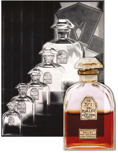 20190131-1930年美國的哈潑時尚雜誌上重現Rallet一號的廣告。(圖/作者Valerie若維)
