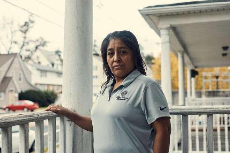 來自瓜地馬拉的清潔工莫拉萊斯(Morales)。(瑞典茉莉提供)