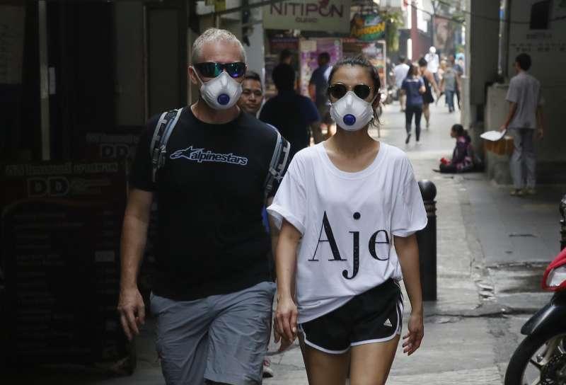 2019年1月,泰國爆發嚴重霾害(AP)