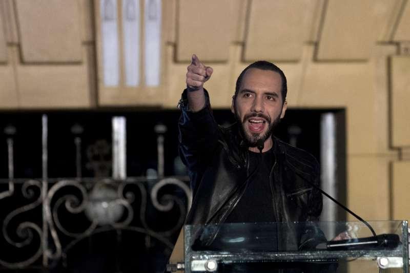 薩爾瓦多前首都市長布格磊在兩大黨夾殺中脫穎而出,當選薩國新任總統。(美聯社)