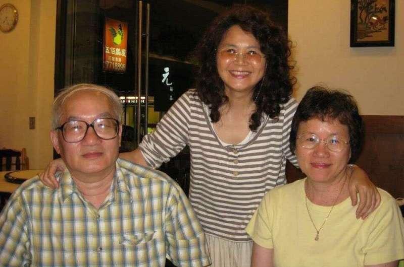 文史學者林博文(左)陳清玉(右)伉儷。(林光美提供)