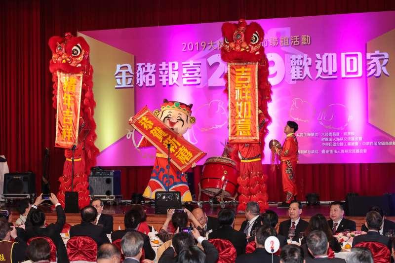 20190211-海基會11日於圓山舉行「2019大陸台商春節聯誼活動」。(顏麟宇攝)