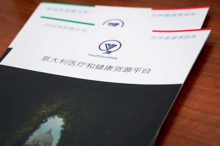 Healthland Italy醫療平台手冊。(曾廣儀攝)