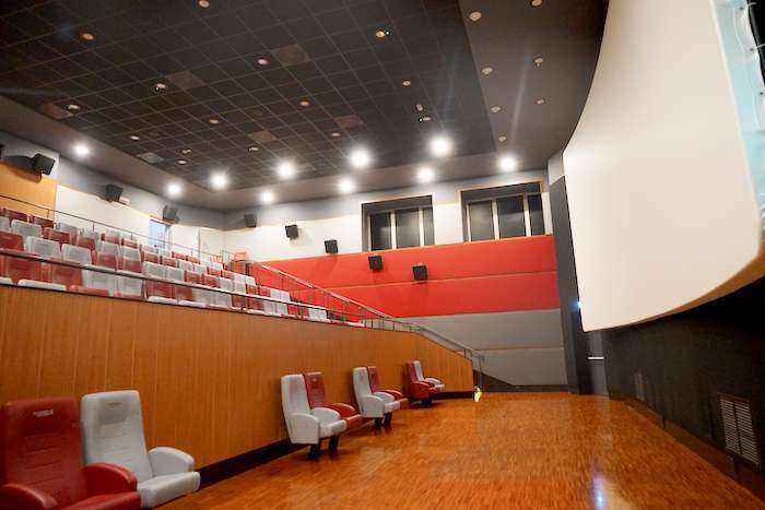 第一家為病人及其家人提供「電影療法」的傑美利電影院。(曾廣儀攝)