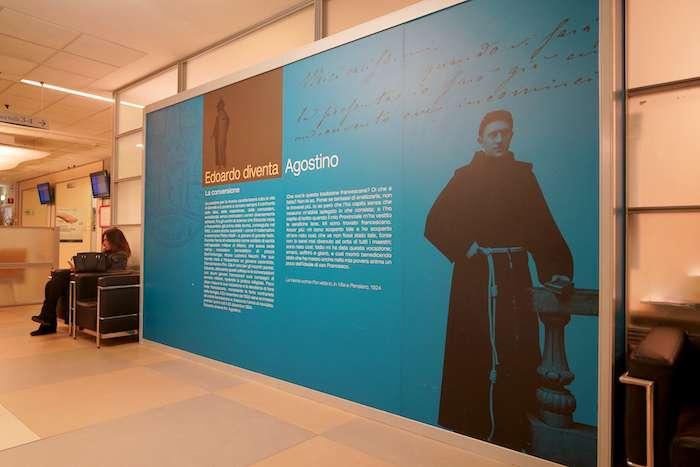 大學醫院創始神父Agostino Gemelli 。(曾廣儀攝)