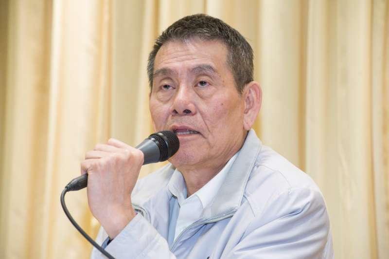 20190211-華航記者會,總經理謝世謙。(甘岱民攝)
