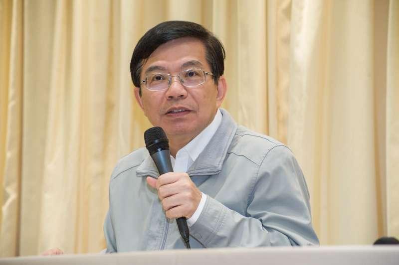 20190211-交通部記者會,次長王國材。(甘岱民攝)