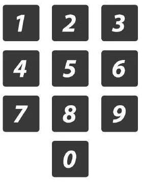 貝爾實驗室得出的電話鍵盤佈局最優解。(圖/愛范兒提供)