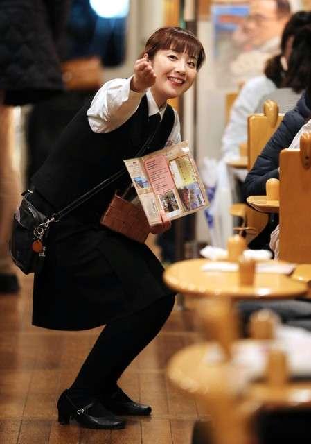 丹鐵的服務員.前田菜津美。(圖/潮日本)