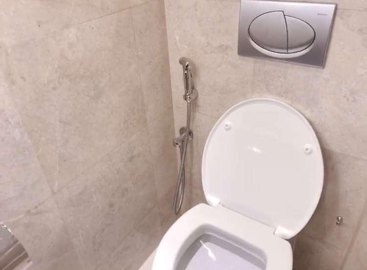杜拜廁所都配有洗便器(圖/李宇涵攝)