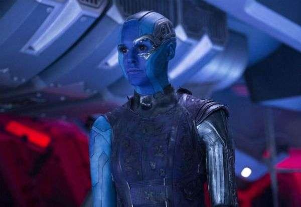 漫威電影《星際異攻隊》中的外星人機器人刺客涅布拉(Karen Gillan 飾演)(圖/智慧機器人網)
