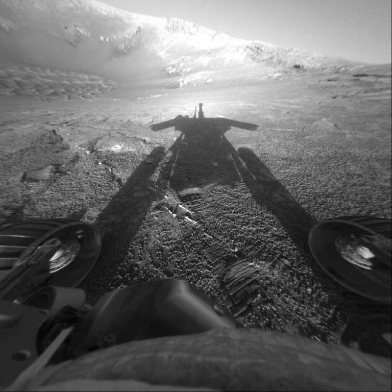 NASA火星探測漫遊車「機會號」。(AP)